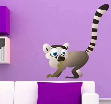 Vinilo lemur