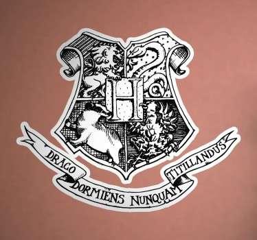 Adhesivo logotipo Colegio Hogwarts