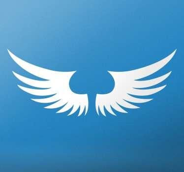 Engel Flügel Aufkleber