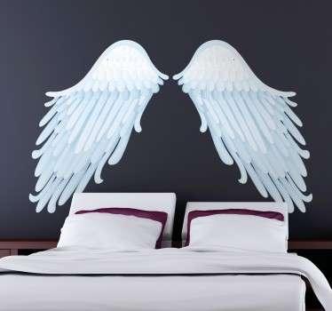 Angel Wings Wall Art Decal