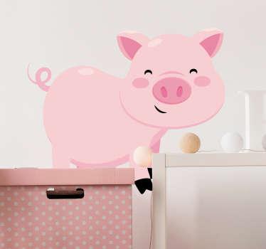 Schweinchen Aufkleber