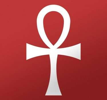 Sticker symbole egypte croix ansée