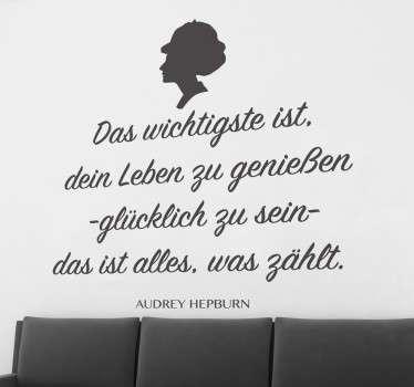 Audrey Hepburn Zitat