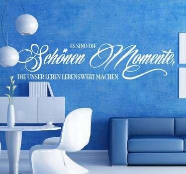 Schöne Momente Sticker