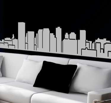 Adesivo decorativo skyline Manchester