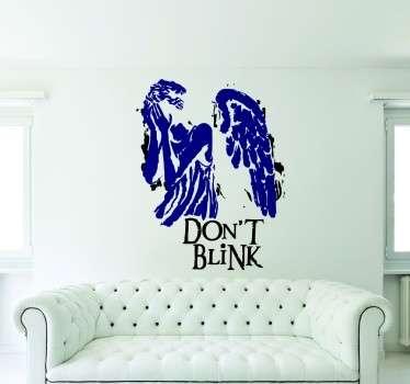 Vinilo decorativo dont blink