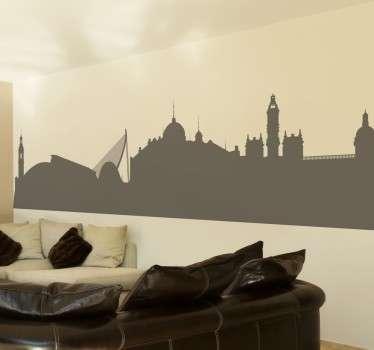 Adesivo decorativo  silhouette Valencia
