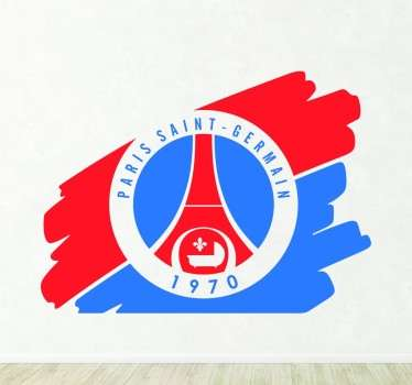Vinilo decorativo logo PSG antiguo