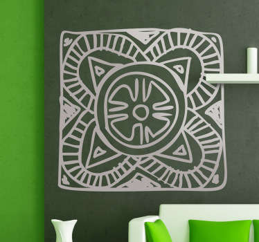 Geometric Mosaic Wall Sticker