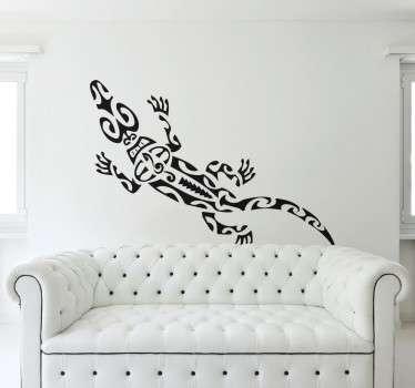 Adesivo decorativo salamandra