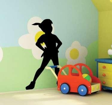 Vinilo infantil Peter Pan posando