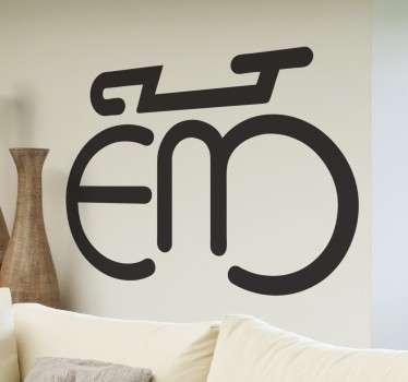 Sticker logo Eddy Merckx