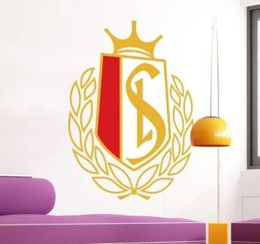 Supportez votre équipe favorite grâce à ce sticker Standard Liège, idéal pour les amateurs de football.