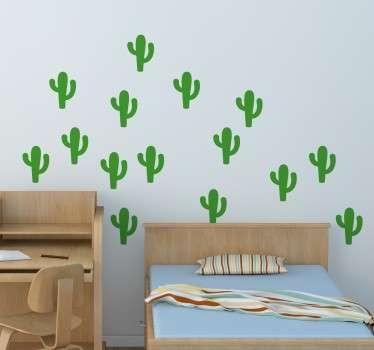 Sticker pegatinas cactus