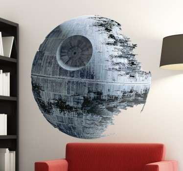 Autocolante decorativo Death Star Star Wars