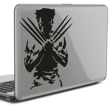 Sticker ordinateur portable Wolverine
