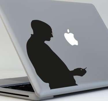 Vinilos para ordenador pensados para fans de la marca de Cupertino y especialmente admiradores de Steve Jobs.