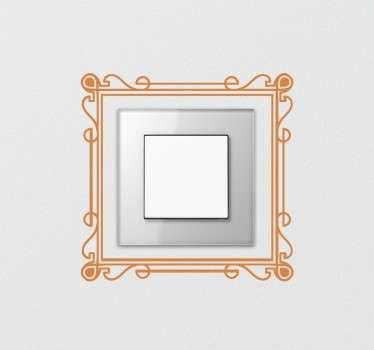Elegant Frame Switch Sticker