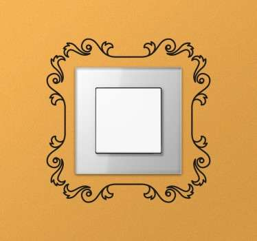 Decorative Frame Switch Sticker