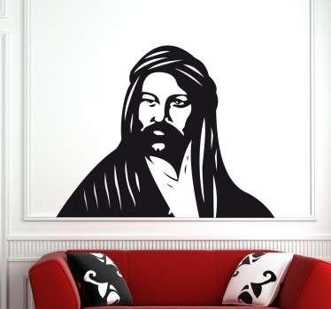 Vinilo decorativo del mítico cuento de aventuras Alí Babá para poder personalizar las paredes de tu hogar y crear atmósferas alucinantes para que las paredes dejen de ser aburridas y monótonas.