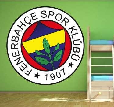 Vinilo decorativo escudo Fenerbahçe