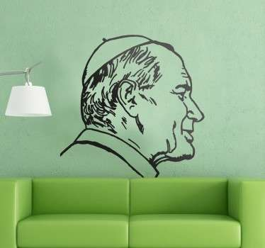 Wall sticker Papa Giovanni Paolo II