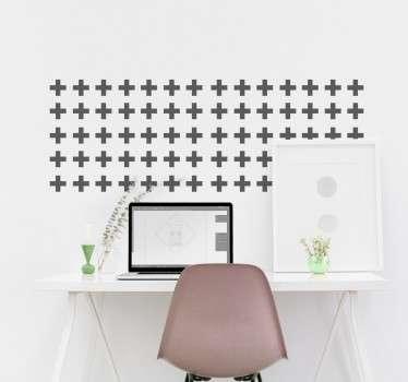 Moderne Muursticker als Wanddecoratie