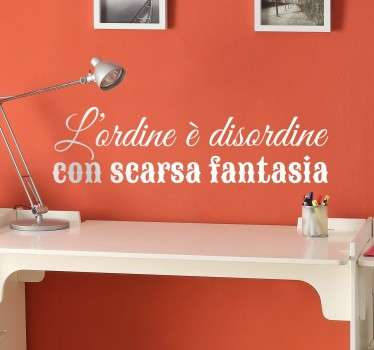Wall sticker scarsa fantasia