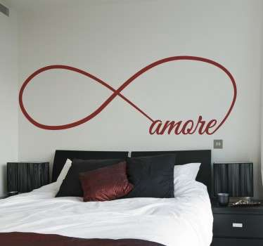 Wall Sticker Infinito Amore