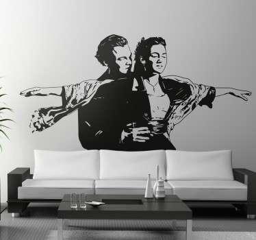 Naklejka na ścianę Titanic