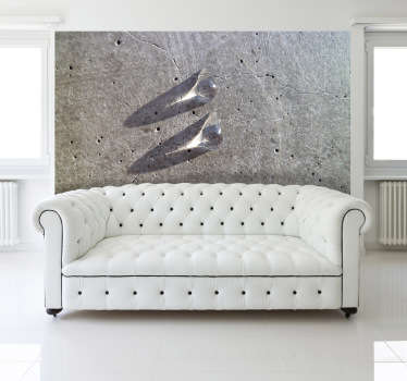 Two Marbles Wall Mural