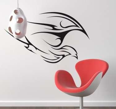Autocolante decorativo traço de ave
