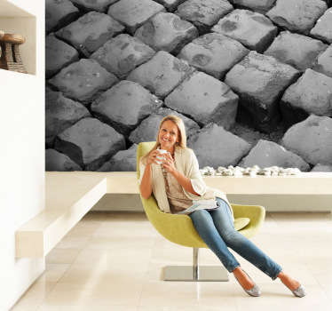 Cobblestone Flooring Wall Sticker