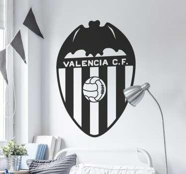 Vinilo escudo Valencia CF monocolor