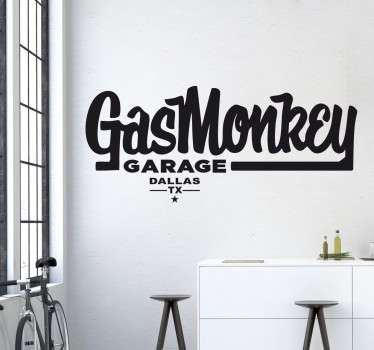 Gas Monkey Garage Wall Sticker