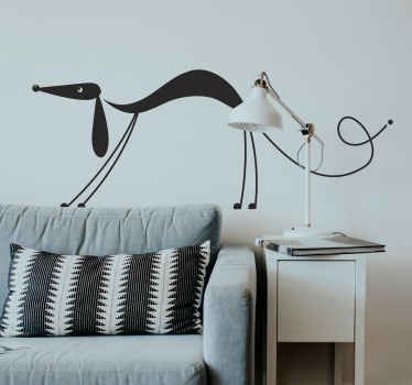 Dog Attention Wall Sticker