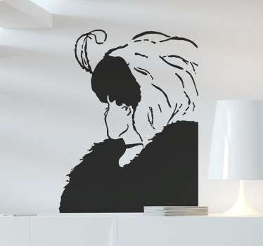 Old or Young Woman Wall Sticker