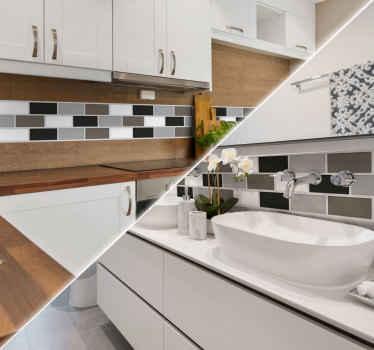 Autocolantes azulejos WC