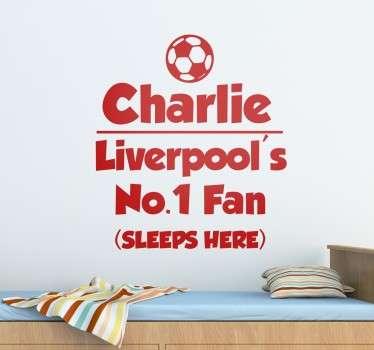 Muursticker Eigen Naam Liverpool