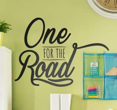 Sticker On The Road Arctic Monkeys