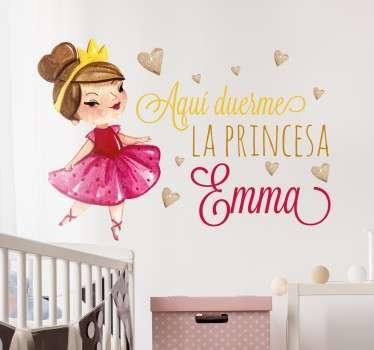Naklejka dla prawdziwej księżniczki