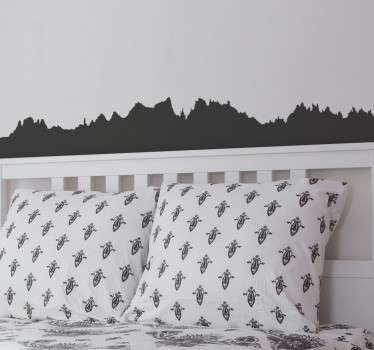 Montserrat Silhouette Wall Sticker