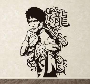 Autocolante decorativo Artes Marciais Orientais