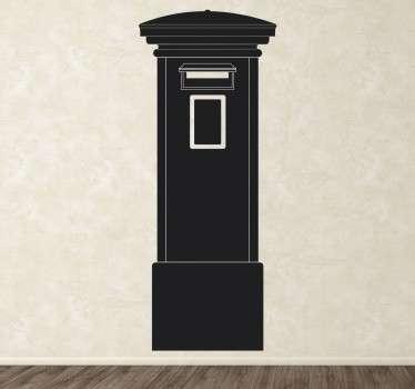 Adesivo Cassetta Postale Londra