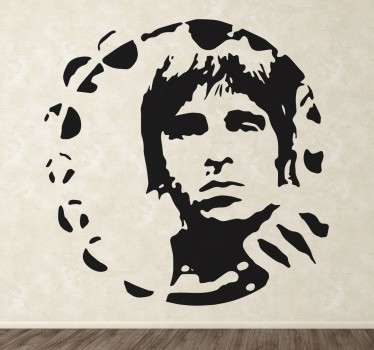 Noel Gallagher Wall Sticker