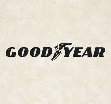 Good Year Logo Sticker
