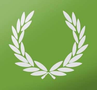 Autocolante decorativo folha de louro vitória
