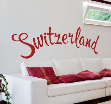 Sticker Switzerland