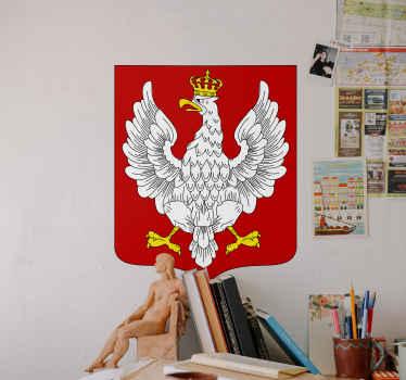Naklejka Godło Polski Orzeł w Koronie