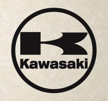 Kawasaki Naklejka Logo